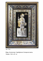 Икона Георгия Победоносца (ГП-06) (40.5х29)