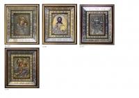 Комплект из трех икон  (МБ10 или МБ18+ВД05+НЧ05)     (КТ-05)