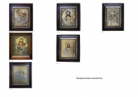 Комплект из трех икон (МБ05 или МБ13 +ВД01 или ВД02+НЧ03)  (КТ-02)