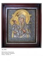 Икона Божьей Матери Троеручницы (36х40,5)  (МБ-02)