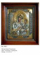 Икона Божьей Матери Тихвинской (31х35)  (МБ-12)